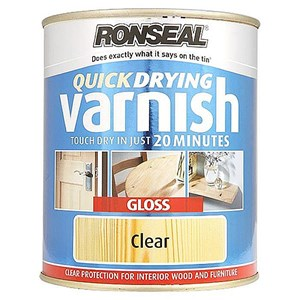 Ronseal,Quick Drying Varnish,Interior