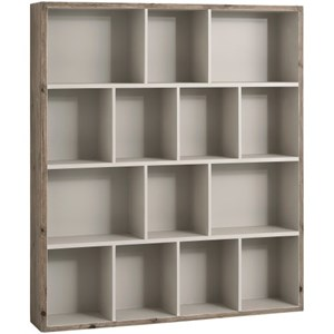 The Studley Collection Multi Shelf Wall Unit - 16245