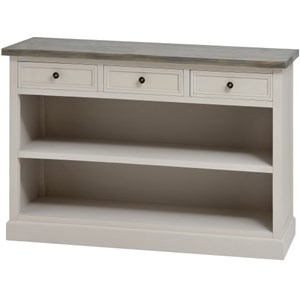 The Studley Collection 3 Drawer Low Bookcase - 16247