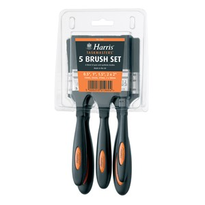 Harris Taskmaster Paint Brush Pack Of 5