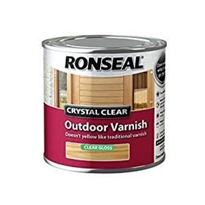 RONSEAL CRYSTAL CLEAR OUTDOOR VARNISH