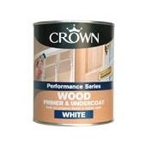 Crown,Quick Drying,Primer/Undercoat,B/White,750ml