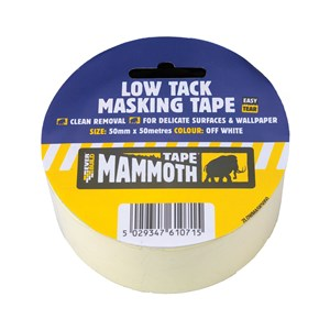Everbuild Low Tack Masking Tape 50mm x 25 Mtr