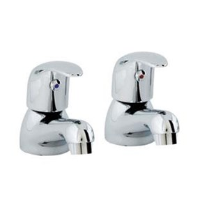 Cerna,Pillar Taps,C/Plated,Per Pair