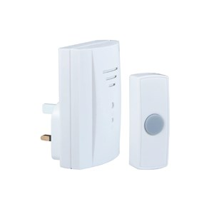 Byron,Plug In Door Chime,50 Mtr,B305