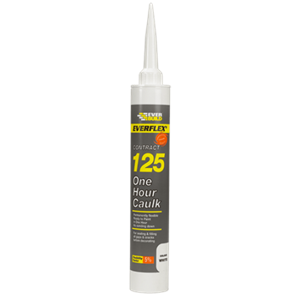 Everbuild Decorator's Caulk One Hour White