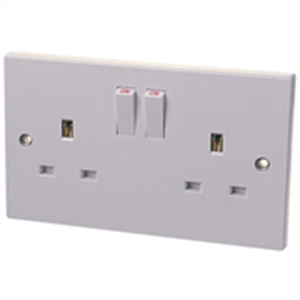 Dencon Switched Double Socket