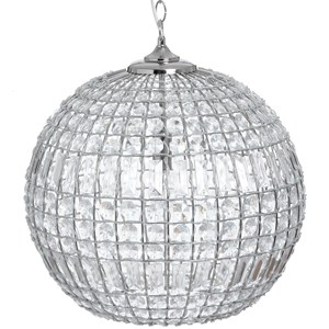 Chic Silver Ball Chandelier - 18045