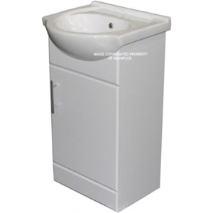 450mm White Vanity Unit | AP1068FR
