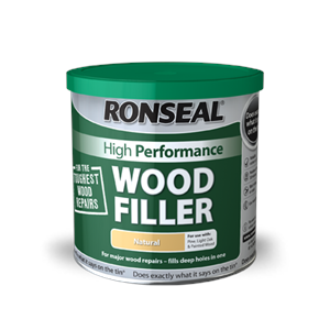 RONSEAL WOOD FILLER HIGH PERF' NATURAL