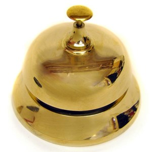 Brass Desk Bell - J1757