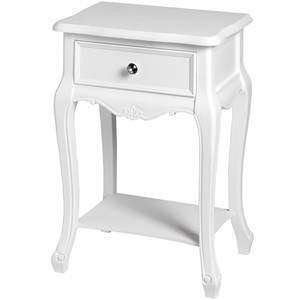 Florence Single Drawer Lamp Table - 17959