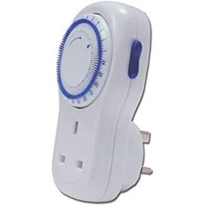 Electric Plug-In Timer,24 Hour
