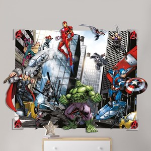 Walltastic,3D Pop Out Wall Decoration