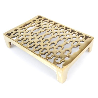 Brass Double Brick Air Vent - A4641