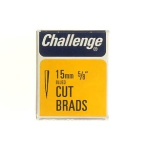 Challenge,Cut Brads,15mm,40gm Box