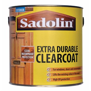 Sadolin,Extra,Clearcoat Woodstain