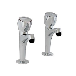 Clasic,Sink Pillar Taps,298305CP - Pair
