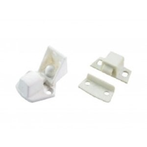 Cent' 32mm White Nylon Peg Lock Catches