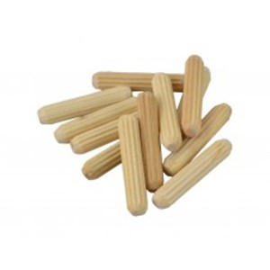 Cent' Fluted Wooden Dowels,M8 x 30mm