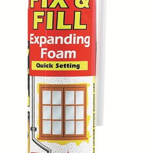 Everbuild Fix & Fill Foam 750ml