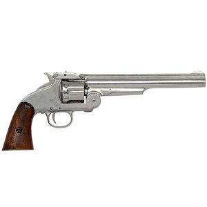 Smith & Wesson 6 Shot Revolver In Nickel Finish 1869 - G1008NQ