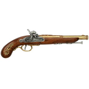 French Duelling Pistol Solid Brass - G1014L