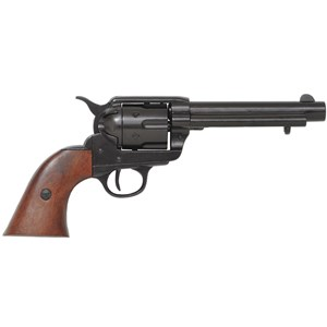 Colt Peacemaker With Wooden Handle Black Finish Barrel 1869