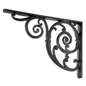Swirl Cast Iron Bracket - H2083