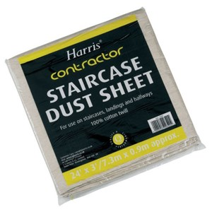 Harris Staircase Dust Sheet 24ft x