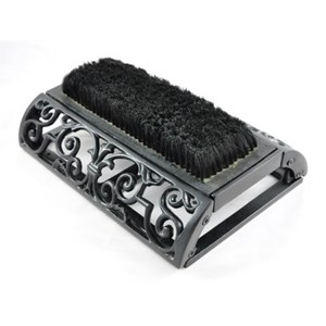 Long Ornate Boot Brush - J499