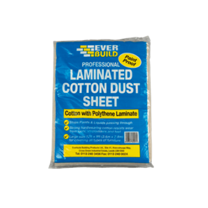 Everbuild Laminated Dust Sheet 12ft x 9ft
