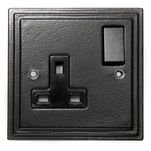 Black Single Socket - M720