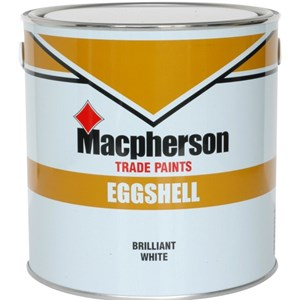 Crown Trade Eggshell Black 2.5 Ltr