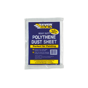 Everbuild H/Duty Polythene Dust Sheet