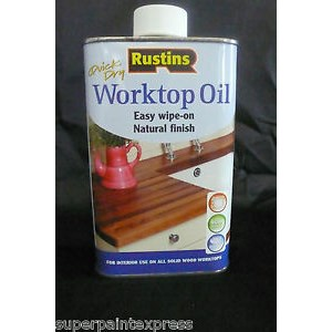 Rustins Worktop Oil Quick Drying 500ml
