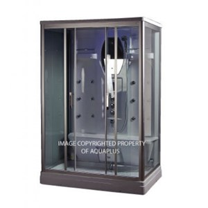 Derbent Steam Shower Cubicle - 1400 x 900 - AP1008SH