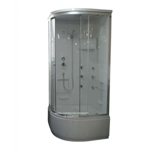Kaltan Steam Shower Cubicle | 900 x 900 | AP1022SH