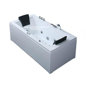 Oryol Large Whirlpool Bath - Radio & Lighting | 1820 x 900 | AP1032BA