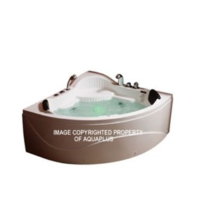 Ochyor Corner Combination Whirlpool Bath | 1230 x 1230 | AP1034BA