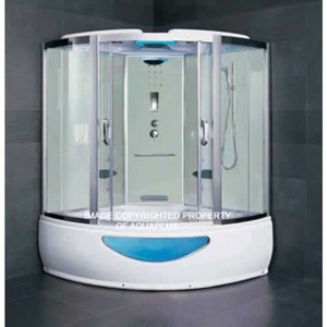 Kupino Steam Shower Whirlpool Bath | 1500 x 1500 | SW1515