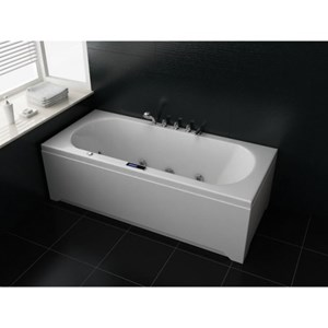 Double Ended Whirlpool Bath | 1700 x 750/1800 x 800 | AP1701/AP1801