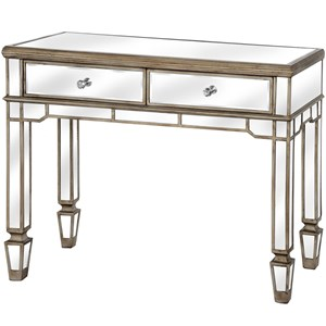 The Belfry Collection 2 Drawer Mirrored Console Table - 18615