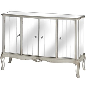 Argente Mirrored Four Door Sideboard - 16902
