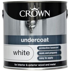 Crown Undercoat Brilliant White,750ml