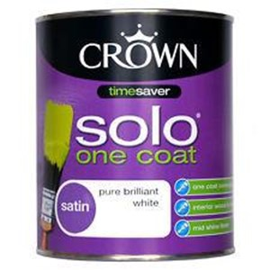 Crown Solo Satin Brilliant White