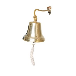 Solid Brass Ship Bell - J459