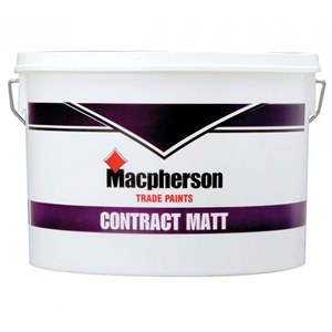 Macphersons Contract Matt Emulsion 10 Ltr