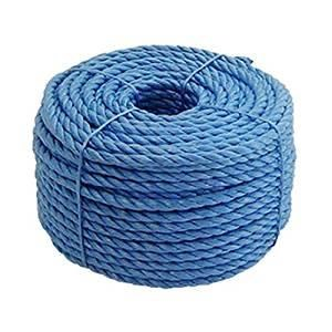 BLUE POLY' ROPE,6MM X 220 MTR