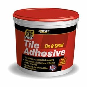 Everbuild,Fix & Grout Tile Adhesive/Grout
